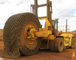 Tyre Chain Spindle System